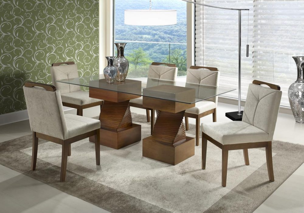 Base de Mesa Belise com Cadeira California