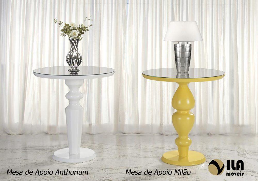 Mesa de Apoio Anthurium e Milão
